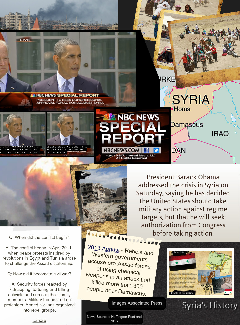 Current Events Syria War Looms